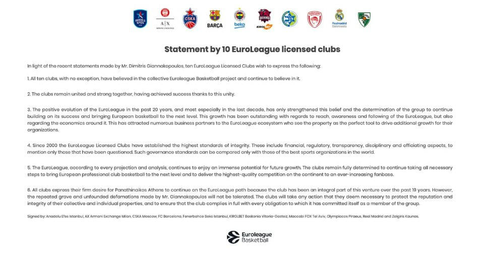 euroleague_statement